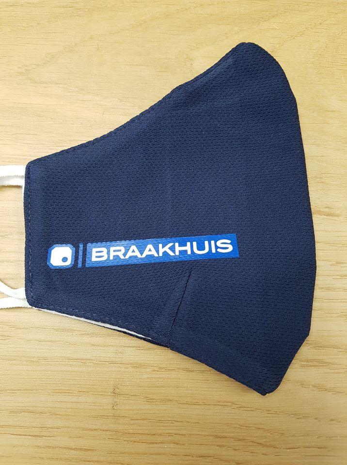Bedrukte mondkapjes Braakhuis
